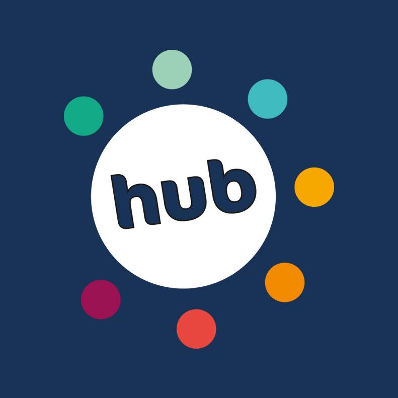 Debt Solutions Hub logo design