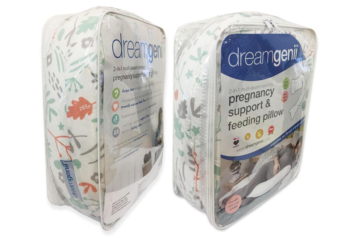 Dreamgenii packaging design