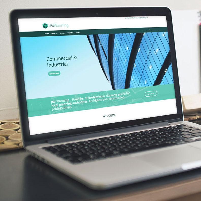 JMI Planning website design