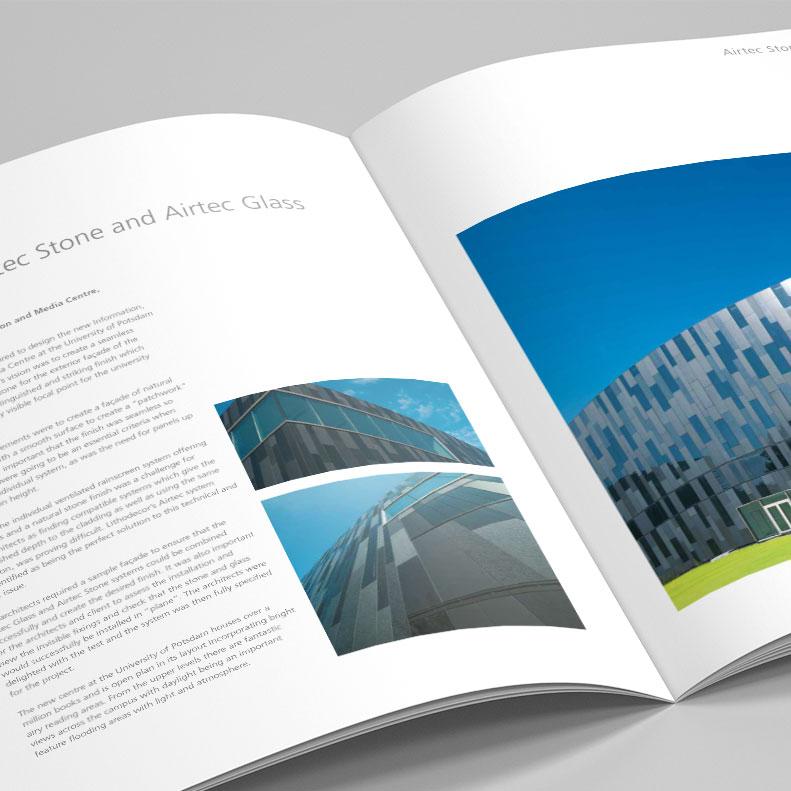 Lithodecor brochure design