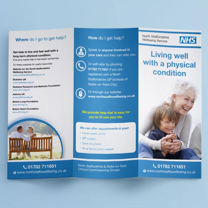 NHS flyer design