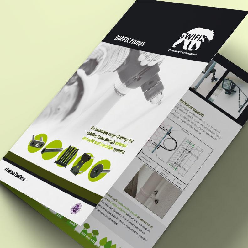 SWIFIX brochure design