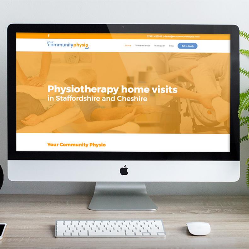 physio website design