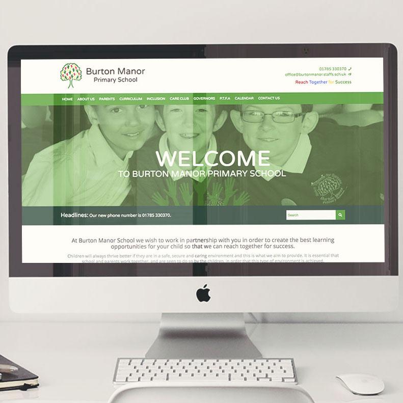 Primary school website design