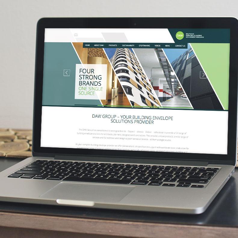 DAW website design