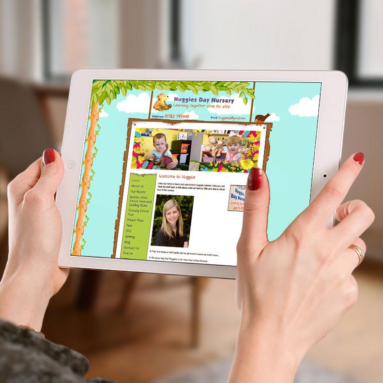 Nursery website design