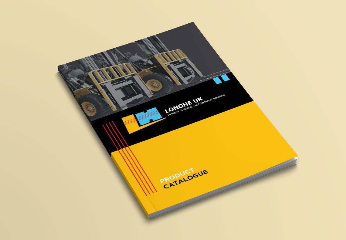 longhe catalogue cover design