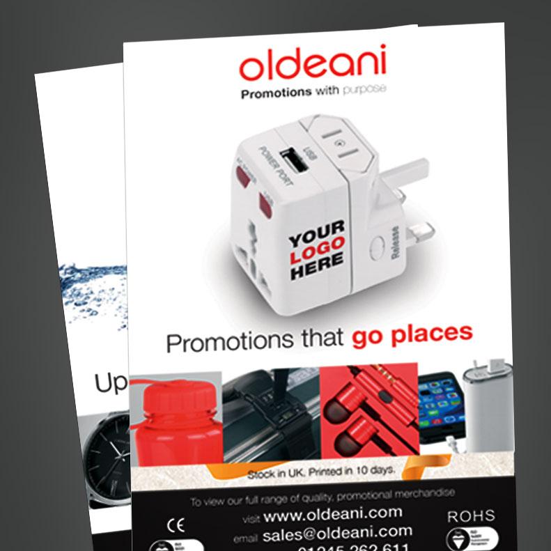 Oldeani advert design