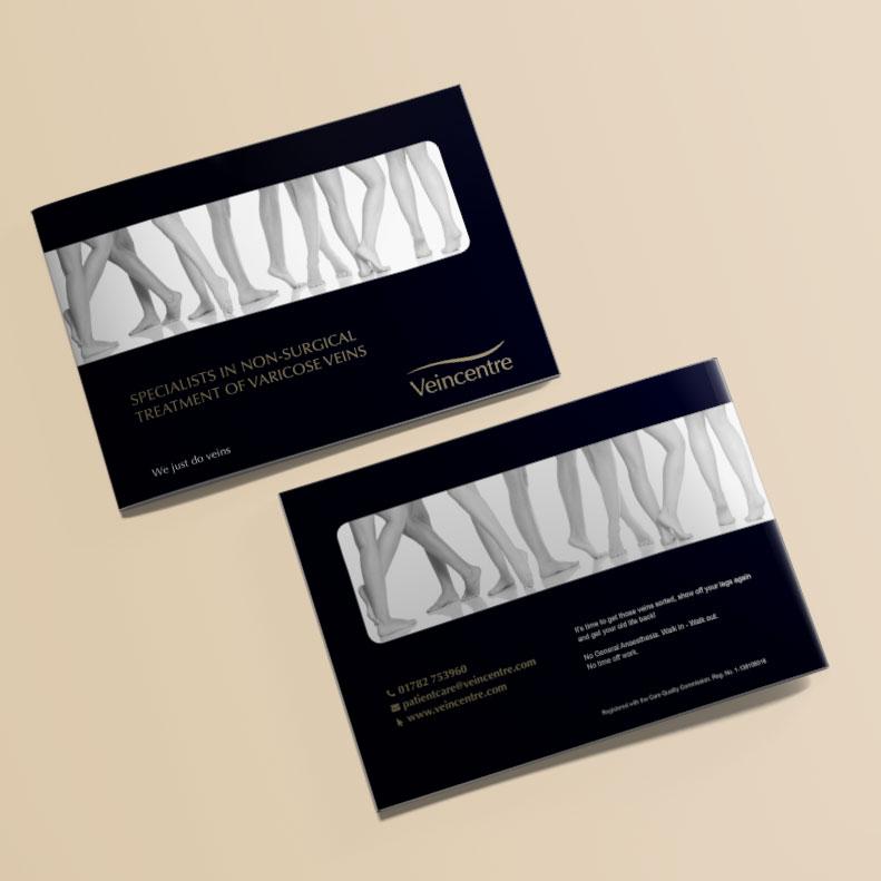 Veincentre brochure design