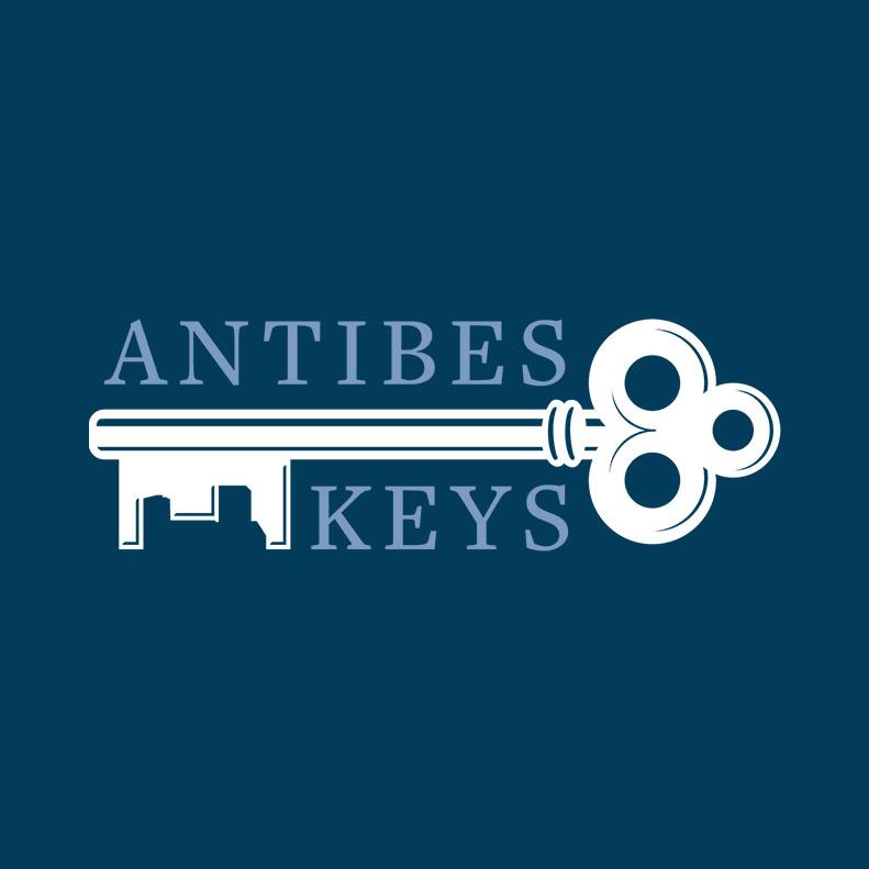 Antibes Keys logo design and branding