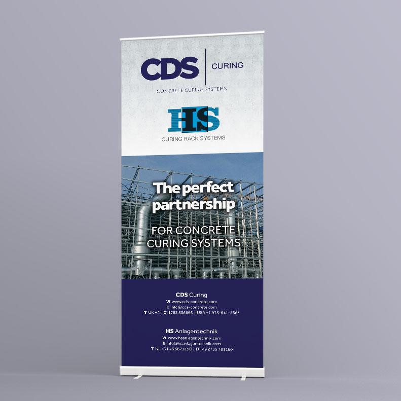 CDS roll-up banner design