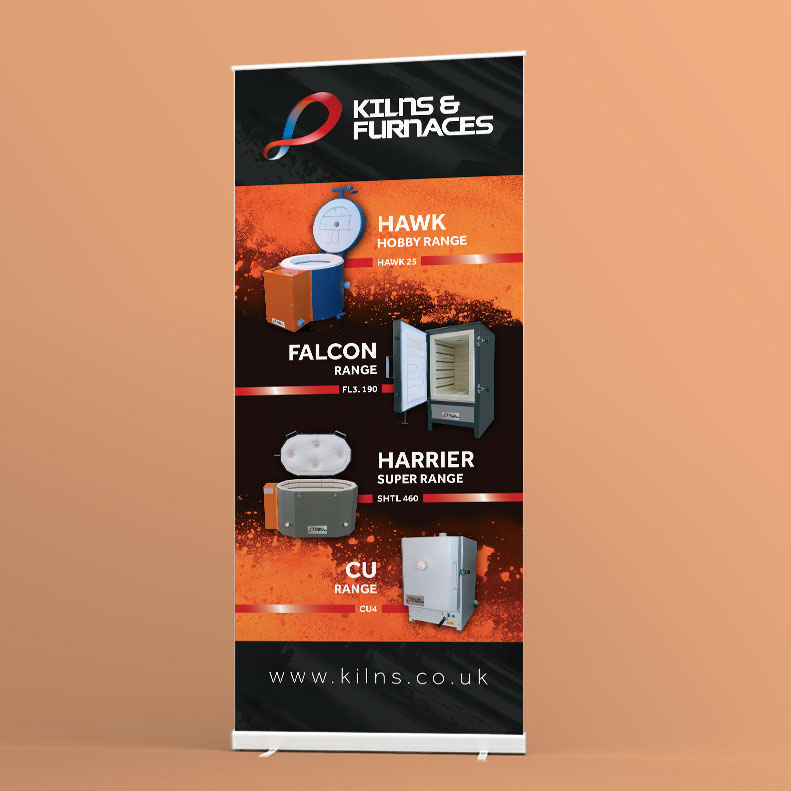 Kilns and Furnaces exhibition stand design