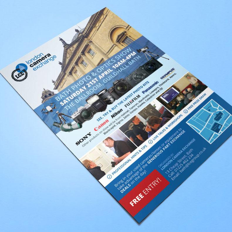 LCE Bath flyer design