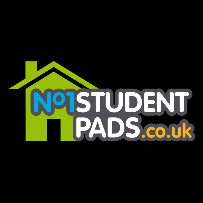 No1 Student Pads logo design