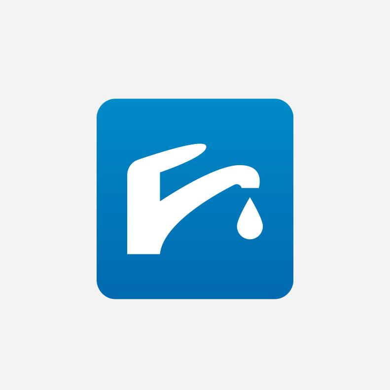 SM Plumbing and Heating logo design