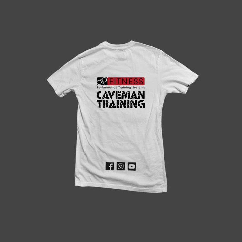Caveman Training t-shirts