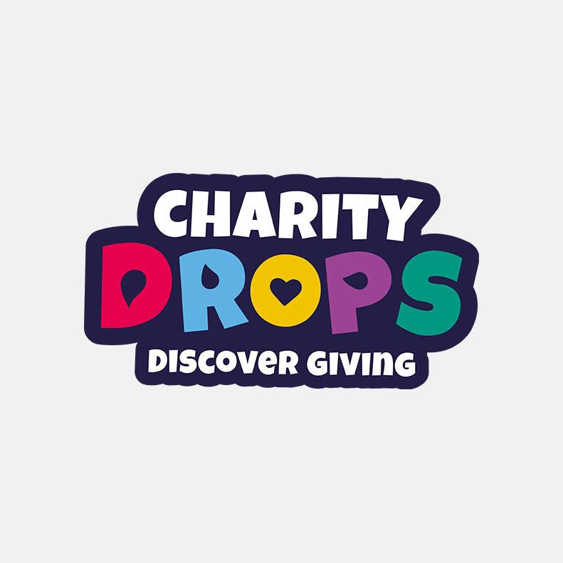 Charty Drops logo design