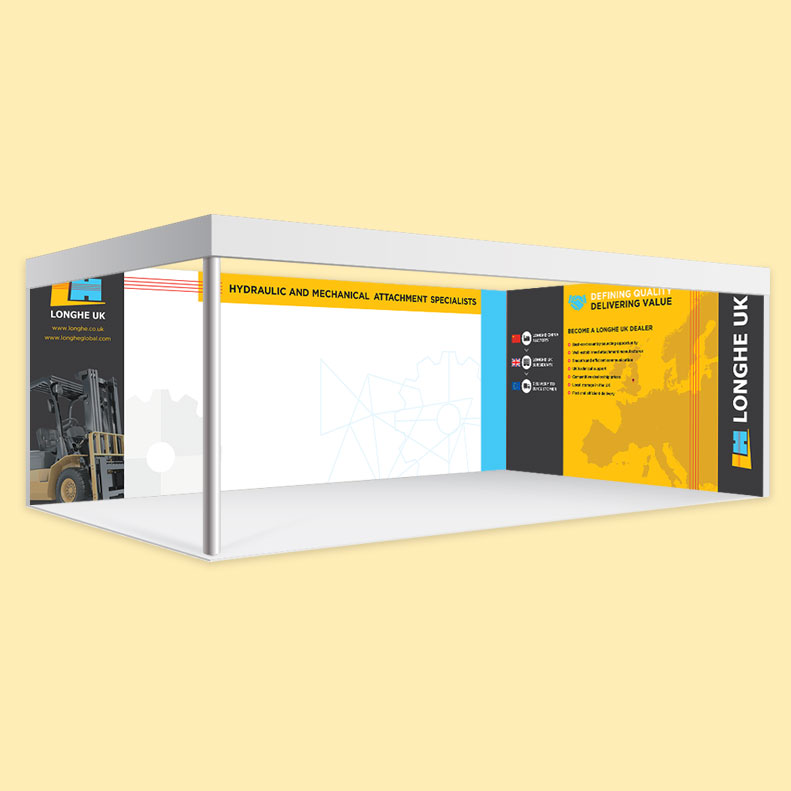 Lognhe UK Shell Scheme graphics design