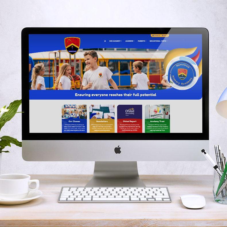 Newstead Primary website design