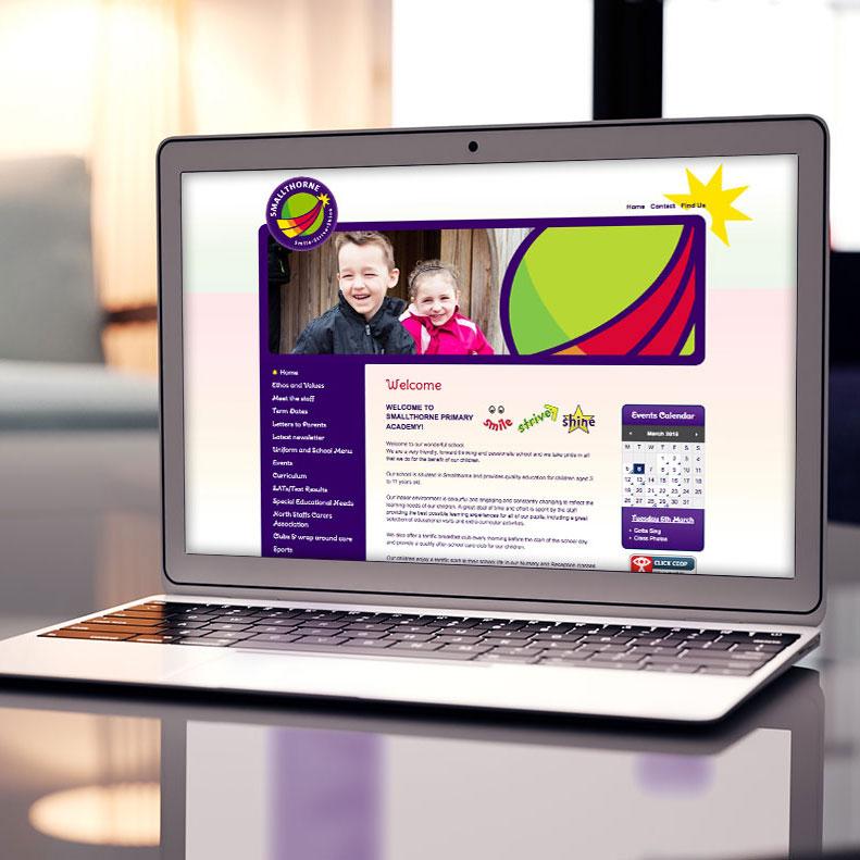 Smallthorne Primary website design