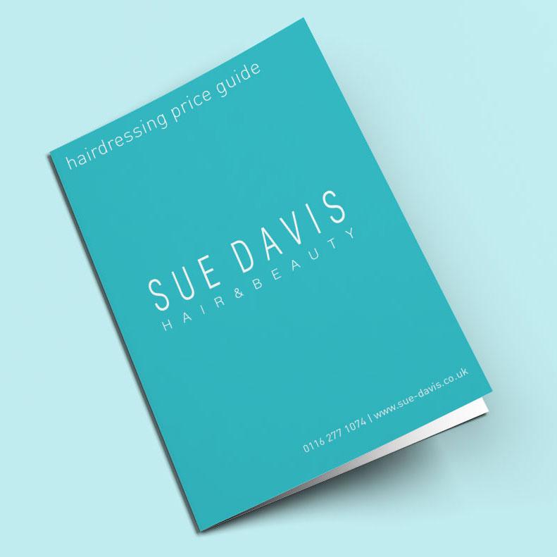 Sue Davis Price Guide design