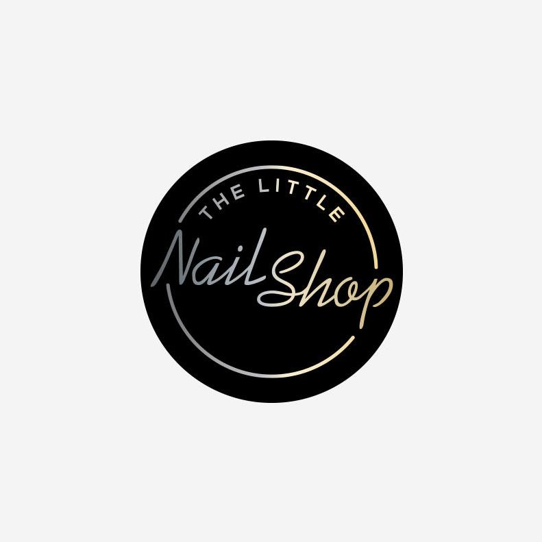 The Little Nail Shop logo design