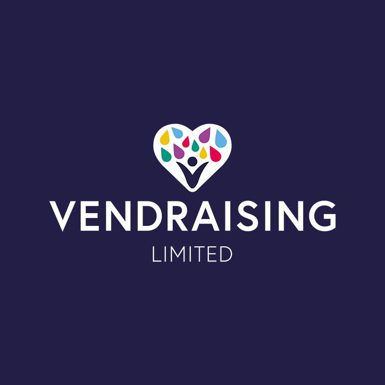 Vendraising logo design and branding