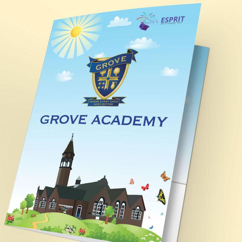 Presentation folder for Grove Academy