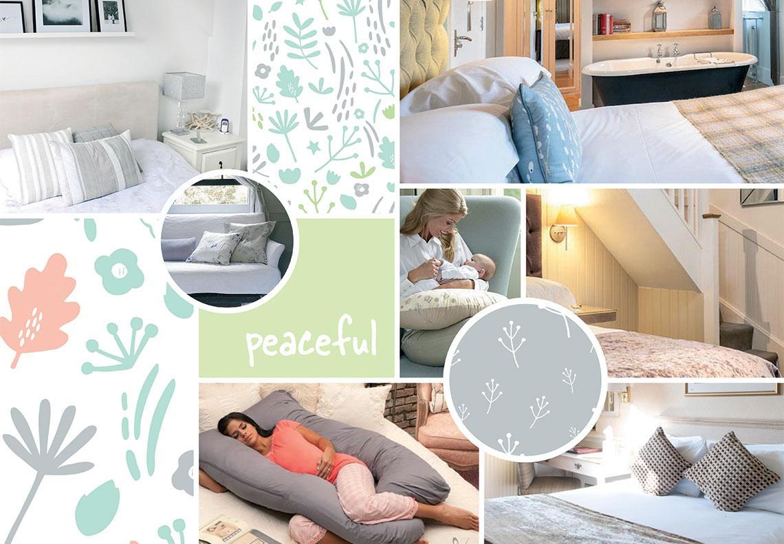 Dreamgenii pregnancy pillow mood board