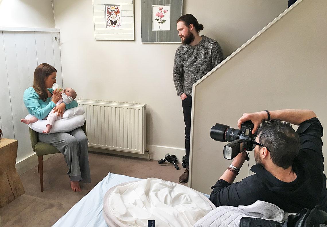 Dreamgenii pregnancy pillow photography