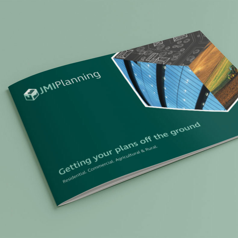 JMI Planning brochure design