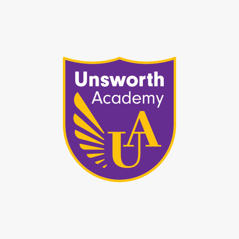 Unsworth Academy logo design