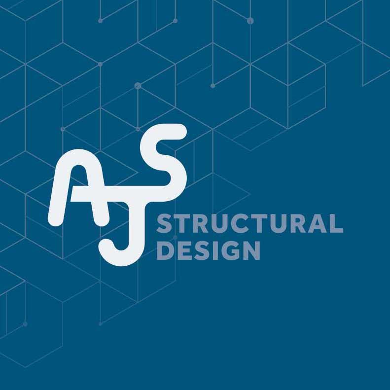 AJS Structural logo design