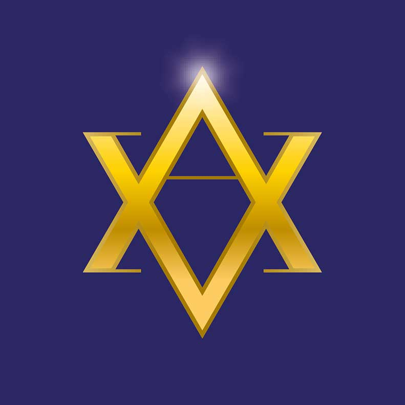 Auric Vibes logo design