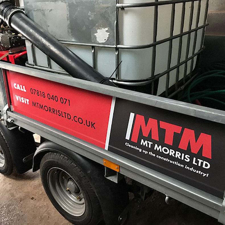 MT Morris trailer graphics
