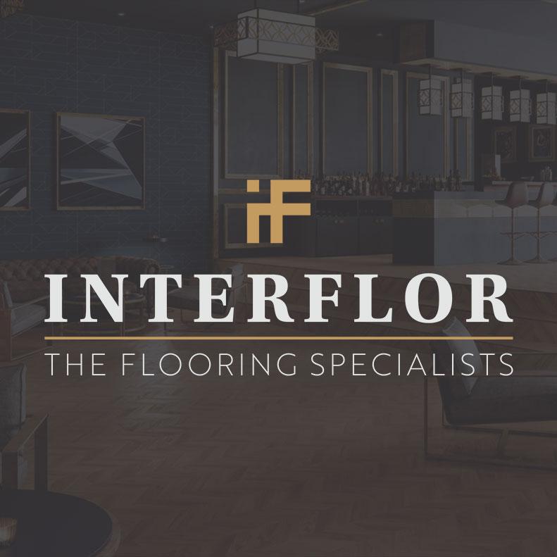 Interflor Interiors logo design