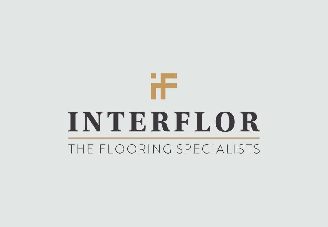 Interflor Interiors logo design