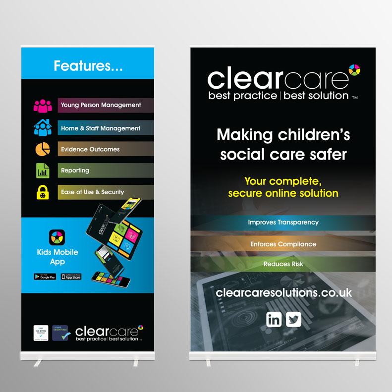 ClearCare Conference Stands